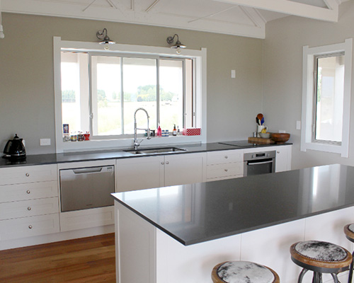 Country modern wellington stylish interiors for Country style kitchen nz