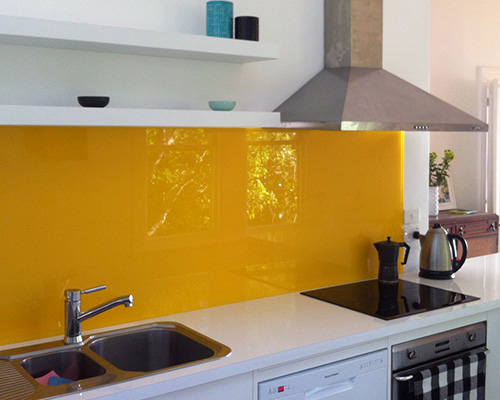 Mellow Yellow Cover - Kitchen Design